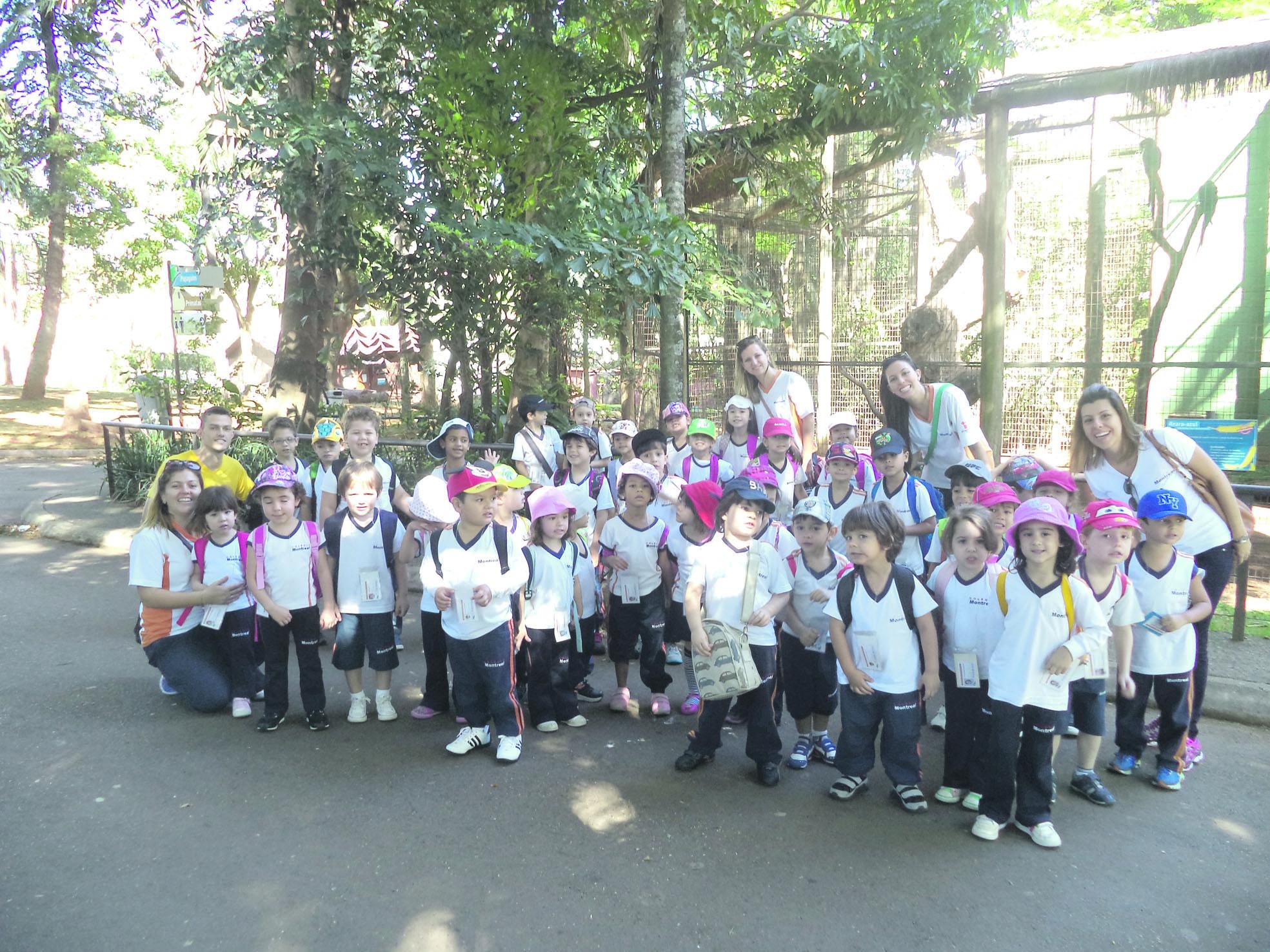 Alunos do colégio fizeram descobertas sobre os animais e a importância da preservação do meio ambiente