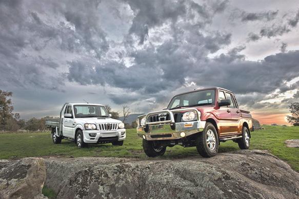 Modelo importado da Índia é montado em Manaus e é a mais em conta do país com motor quatro-cilindros de 2,2 litros e 120cv