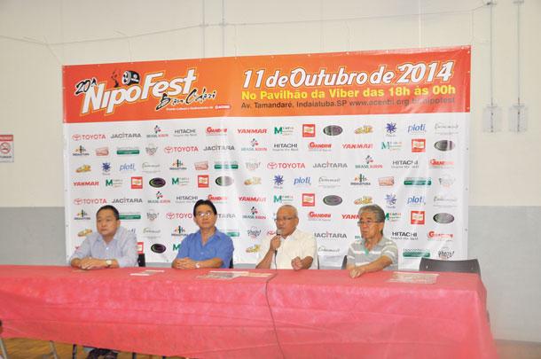 Festa foi anunciada em coletiva de imprensa na quarta-feira (1º)