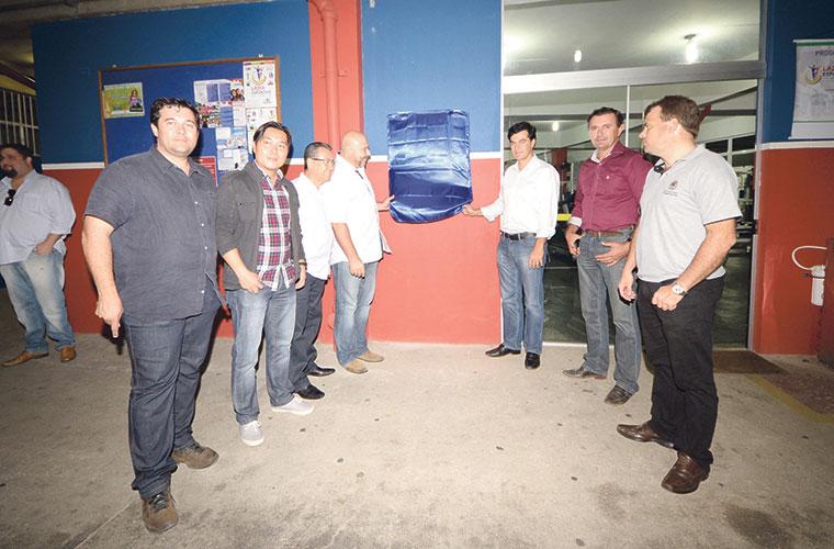 Foram feitos reparos na impermeabilização das lajes, nova cobertura para quadra, instalação de nova caixa d'água entre outros Foto: Eliandro Figueira – SCS/PMI