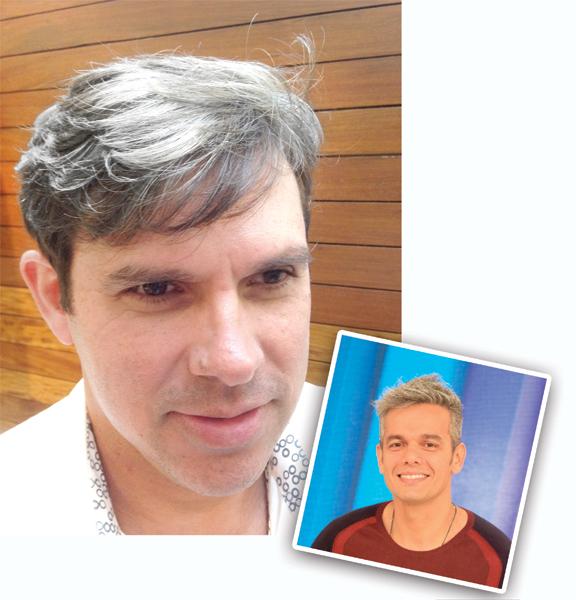 charme:  Sandro gostou de ter assumido os brancos com maturidade Foto:  Divulgação/Gabriela Zamora