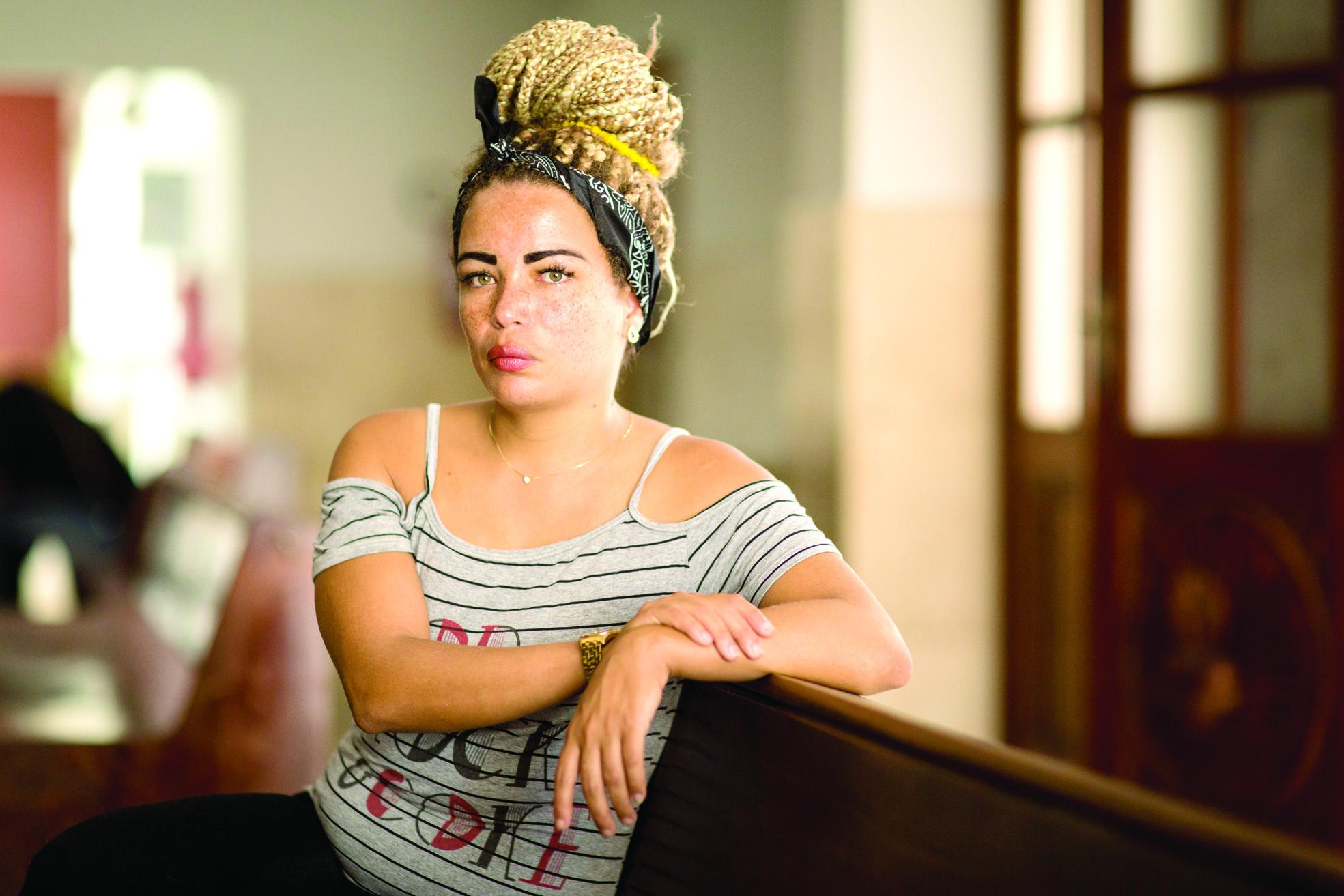 SOC Rio de Janeiro (RJ) 13/10/2017 - ONU divulga resultados sobre direitos reprodutivos de mulheres na America Latina. Vanessa do Nascimento, 30 anos. Foto : Fernando Lemos / Agencia O Globo