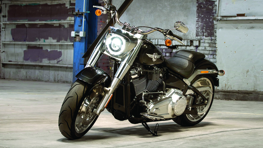 25 - Harley-Davidson Fat Boy