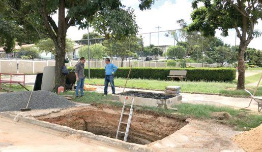 Ecoponto, container subterrâneo é instalado