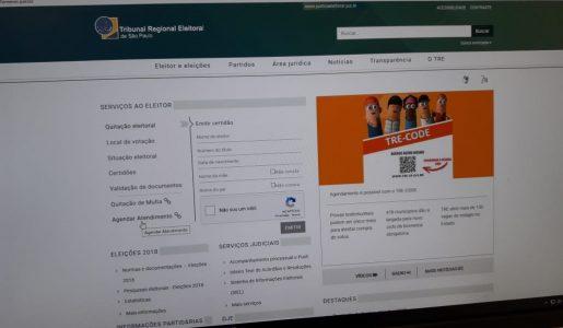 Justiça Eleitoral convoca eleitores para fazer biometria