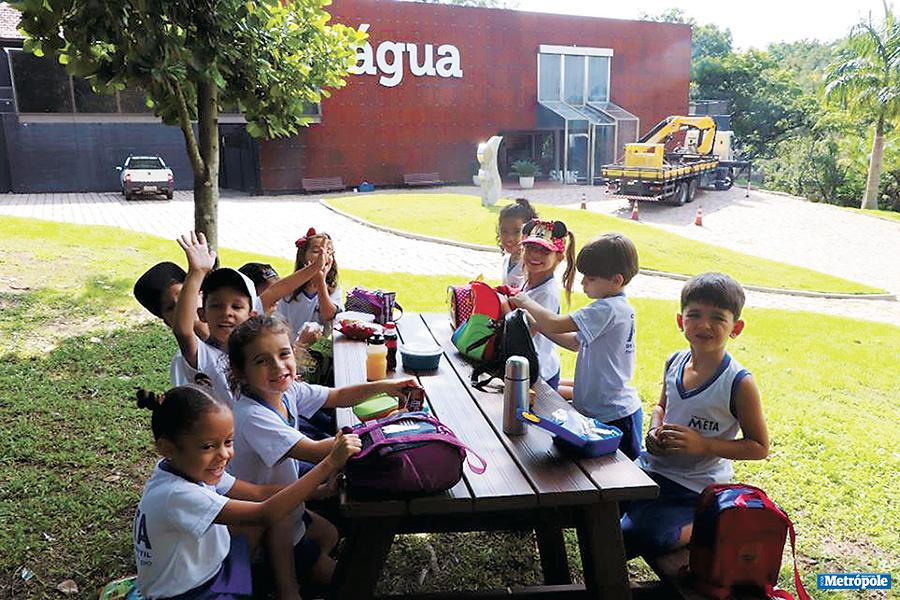 26 - Alunos do Colégio Meta visitam o Museu da Água em comemoração ao Dia da Água