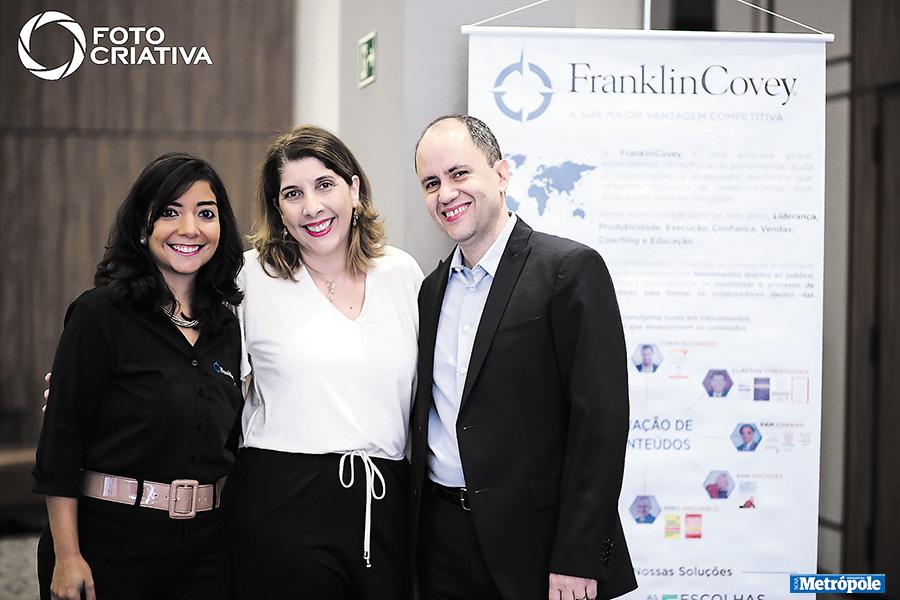 27 - Equipe FranklinCovey Rose, Alessandra e Mauricio