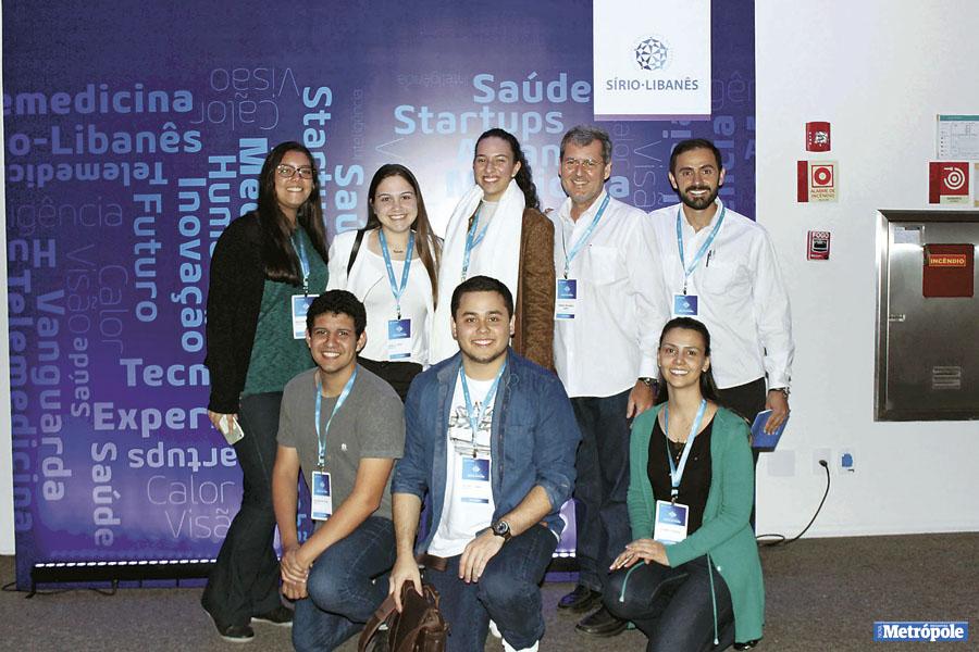 26 - Foto 7_ Alunos e professores de Medicina marcaram a presença no lll Encontro Nacional Médicos do Futuro