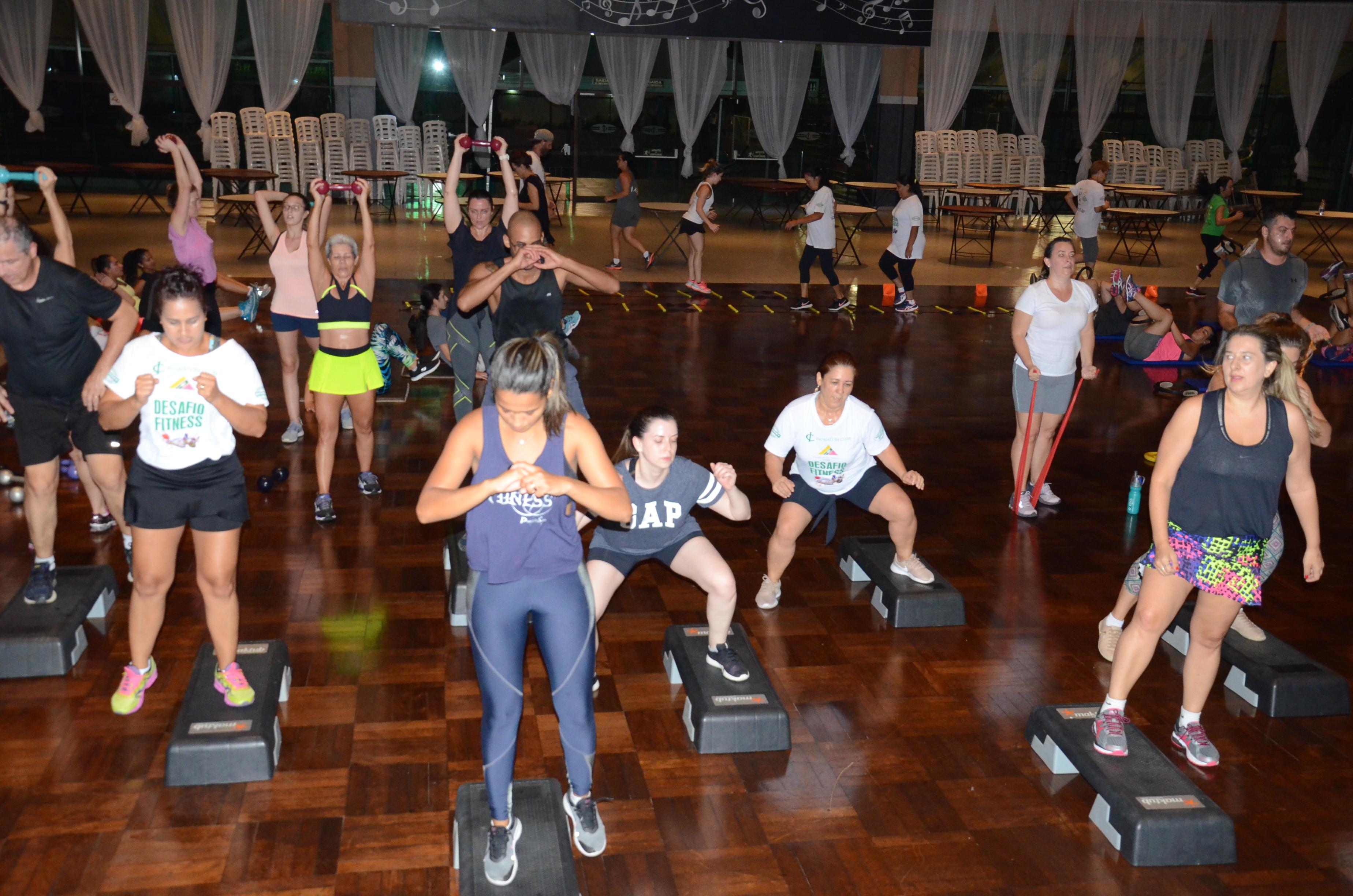 Os vencedores do Desafio Fitness serão divulgados no Indaiá em Ação