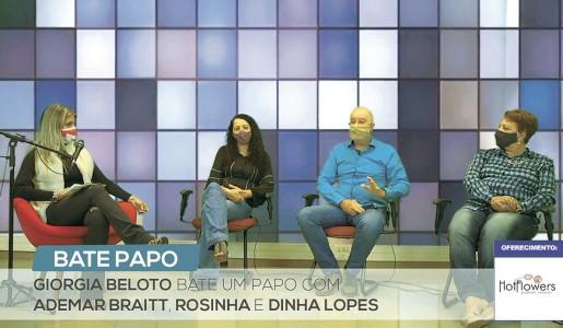 Bate Papo na TV Exemplo® com Ademar, Rosinha e Dinha