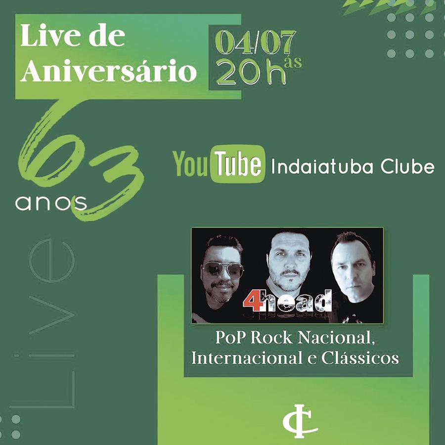 10 - Live Indaiatuba Clube 63 anos