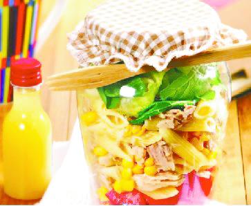 14 - Salada no pote