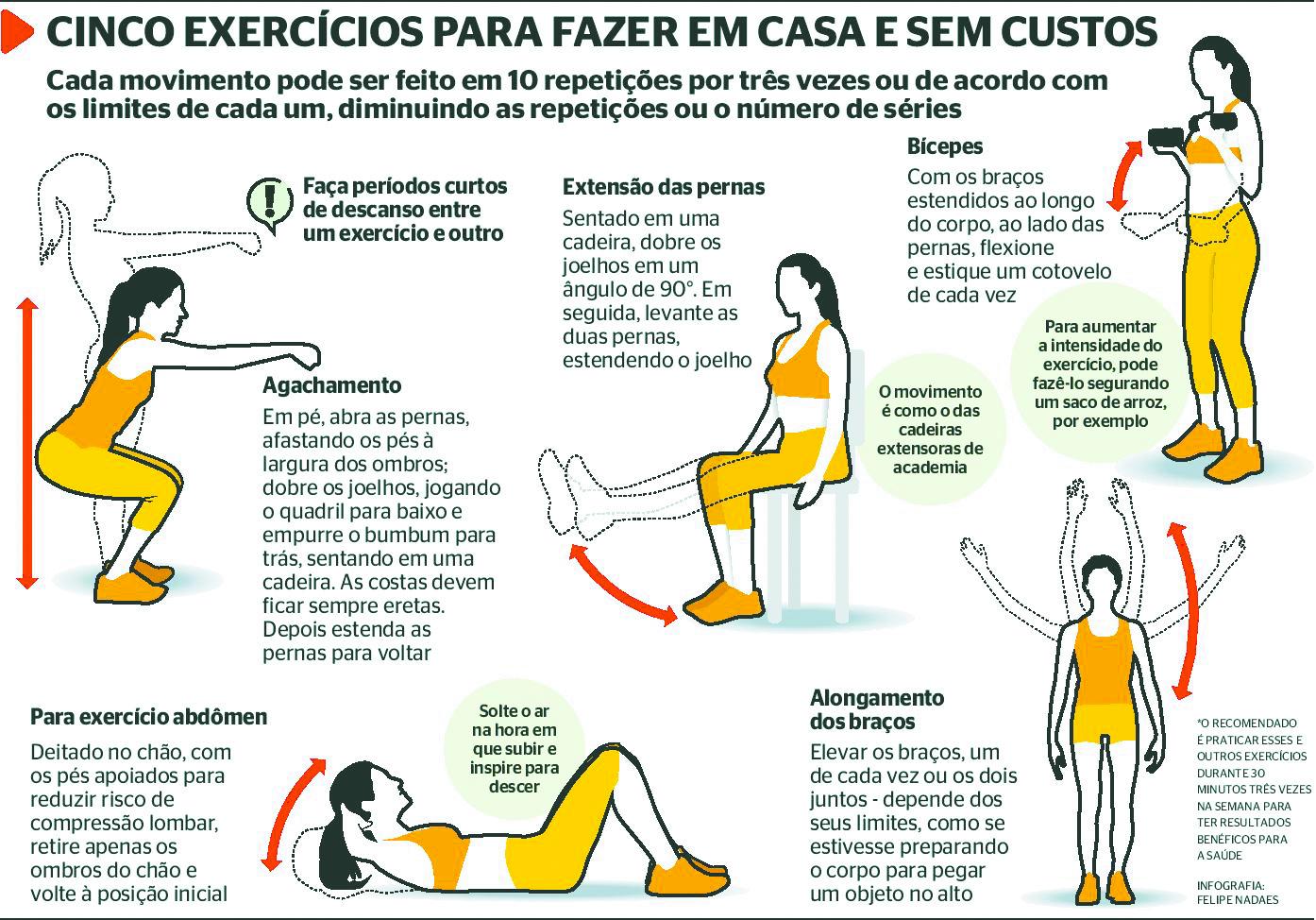 16 - Exercício em casa